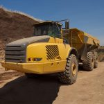 Articulated dump trucks tyres